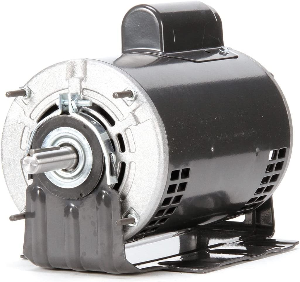 Dayton 3/4 HP Direct Drive Blower Motor, Capacitor-Start, 1725 Nameplate RPM, 115/208-230 Voltage, Frame 56 - 4YU35