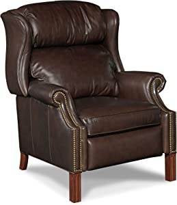 Hooker Furniture Leather Recliner Chair in Sicilian Cipriani