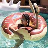 Swim Rings Inflatable Pool Float - Wishtime HQ17001(2017 New Collection)Pool Swimming Floats for for Swimming Pool for Adults Children Toddler Donut with Sprinkles Chocolate