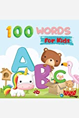 My Awesome Alphabet 100 Words for Kids: Early Learning the Alphabet of English for 2-5 Year Olds Kindle Edition