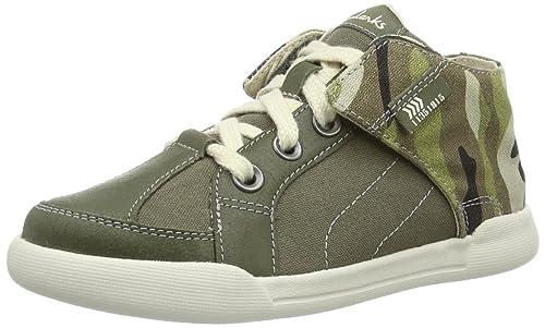 Clarks Kintor Boy 203578427 - Zapatos para unisex-adulto, color verde, talla 38