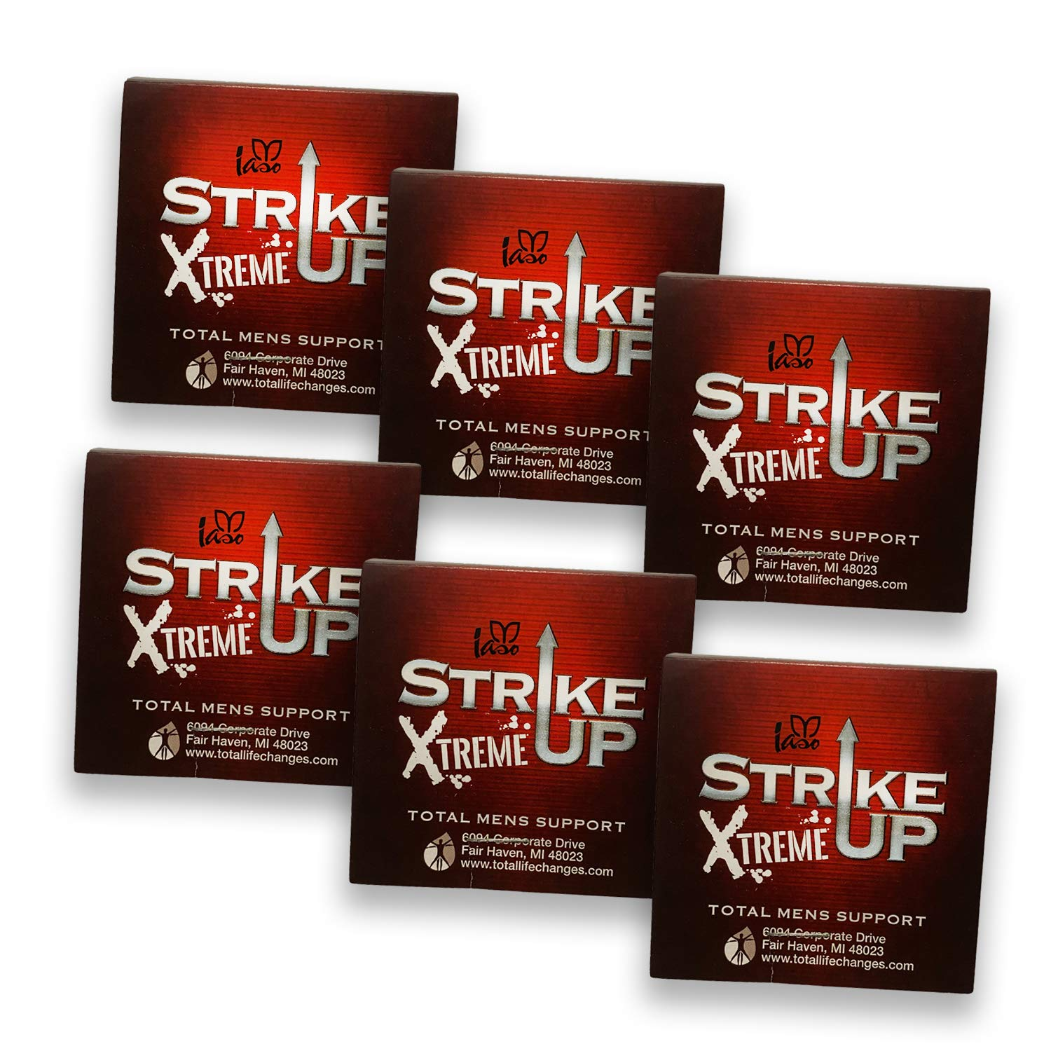 TLC IASO Strike Up Extreme (6 Capsules) - Total Men's Support