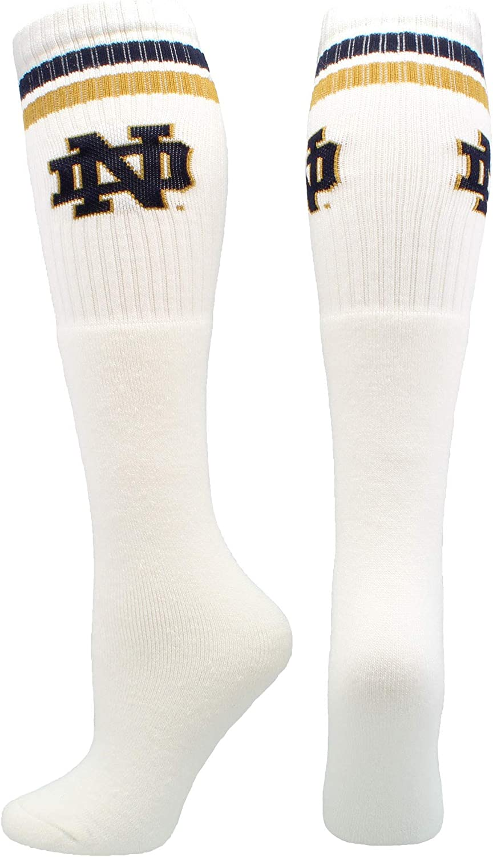 University of Notre Dame Socks Fighting Irish Throwback Tube Style