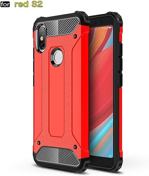 xinyunew Xiaomi Redmi S2 Funda, 360 Grados Protección +Vidrio ...