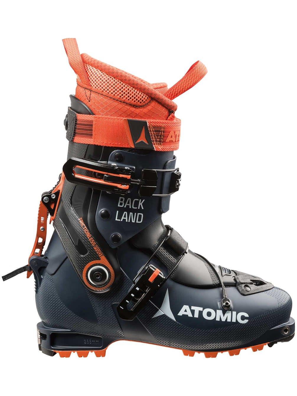 Atomic Backland Alpine Touring Boot Dark Blue/Orange/Black, 25.5