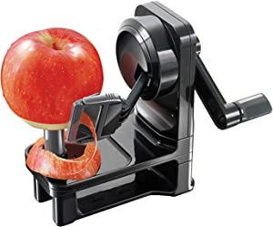 Simposh Multi-Peeler | Rotary Apple Peeler with Serrated Stainless Steel Blade | Safely, Quickly & Easily Peels Apple Pear Kiwi Tomato Vegetable & Fruit | Adjusts to Different Skin Peel Variations