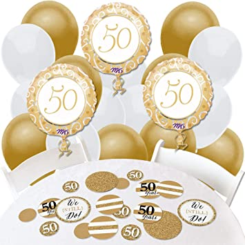 Amazon Com We Still Do 50th Wedding Anniversary Confetti And