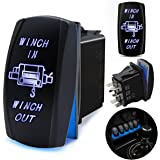 fabood f 7 pin winch in/out momentary rocker switch laser on-off-