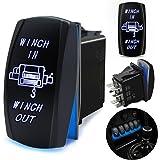 Amazon.com: MICTUNING LS09901 7 Pin Momentary Laser Rocker Switch ...