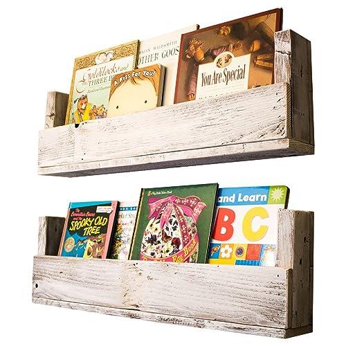 Drakestone Designs Nursery Bookshelves 28 Inch Set Of 2