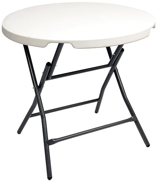 Gartentisch rund klappbar  Amazon.de: CON:P CMB407480 Gartentisch rund, klappbar, Durchmesser ...