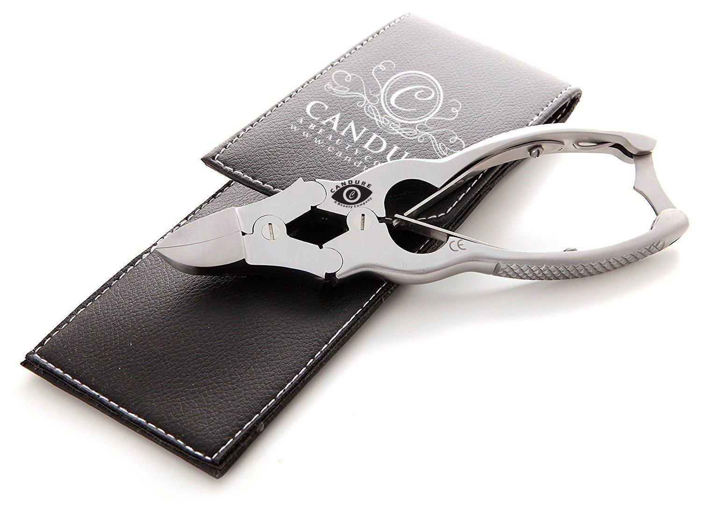 Qualité professionnelle Coupe-ongles en acier trempé - Pince À Ongles INCARNÉS - 14.5cm - Podologie Instruments Candure CA2150