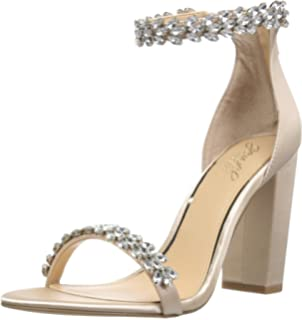 5eea5f97fd31 Amazon.com  Badgley Mischka Women s Hooper Heeled Sandal  Shoes
