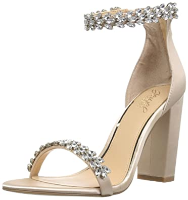 8fbe35c3f1c Amazon.com  Badgley Mischka Women s Mayra Heeled Sandal  Shoes