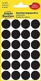 Avery Zweckform 3003 Markierungspunkte (Etiketten, Ø 18 mm) 96 Stück schwarz
