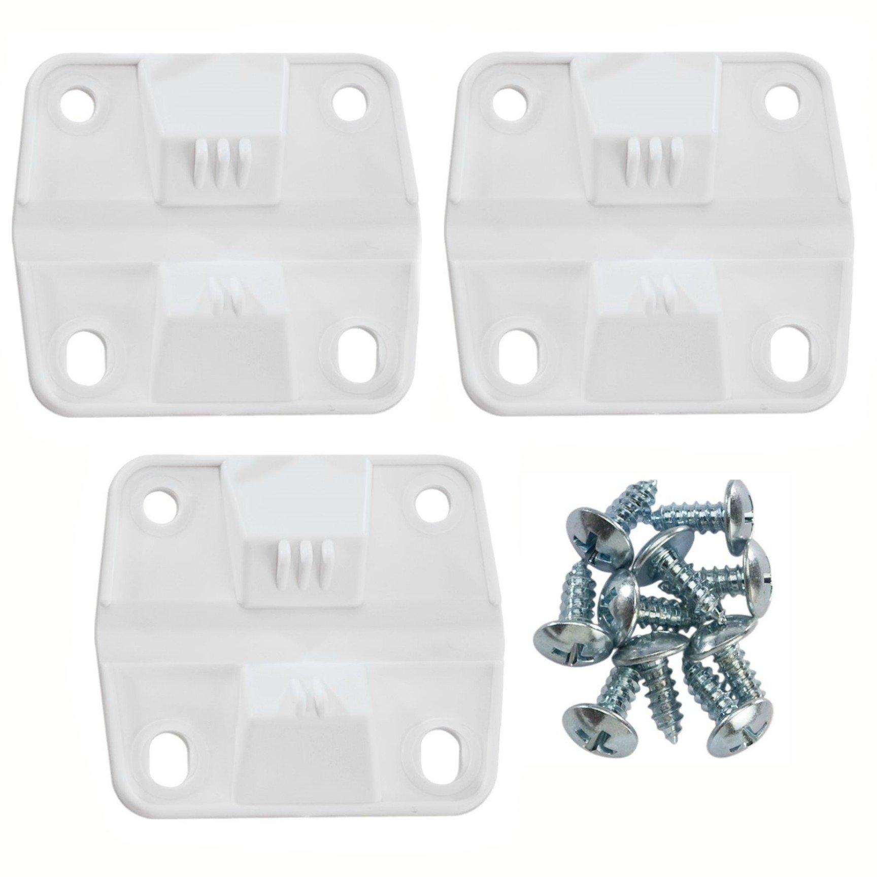 Set of 3 Coleman Replacement Hinges and Screws
