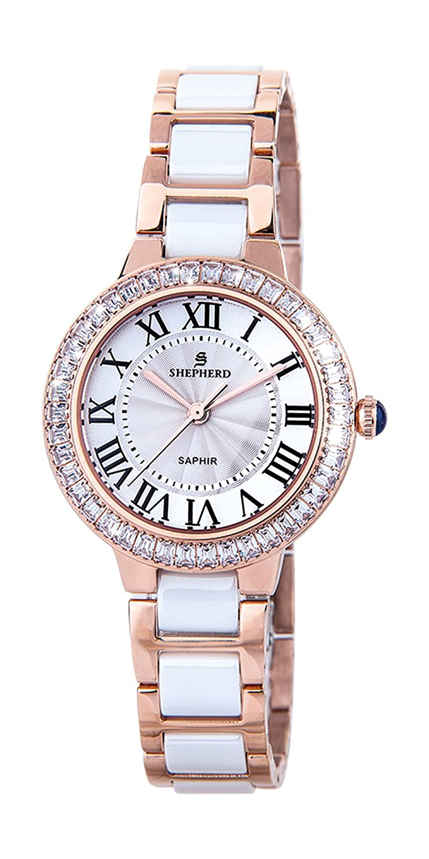 SHEPHERD Keramik Damen Armbanduhr 60394