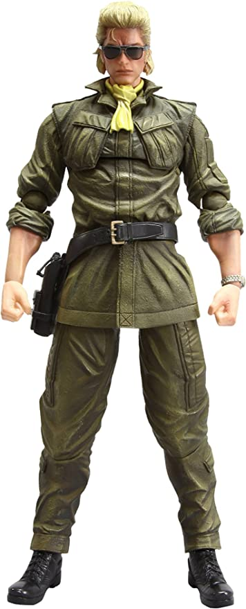 Amazon Com Metal Gear Solid Peace Walker Miller Play Arts Kai Action Figure Toys Games The hamburgers of kazuhira miller. metal gear solid peace walker miller play arts kai action figure