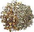 YaHoGa 300 pcs #5 Zipper Stops Bottom Stops Top Stops for Zipper Repair Zipper Replacement Anti-Brass