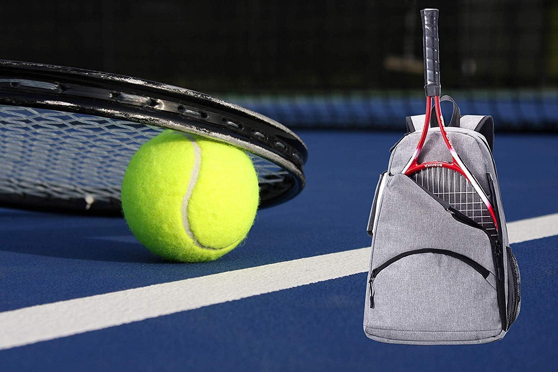 Bolsa de Soporte de Raqueta de Tenis Mochila de Tenis 36L Bolsa de Equipo de Tenis//Racque//Squash para Hombres Mujeres y Adolescentes HGJ1126