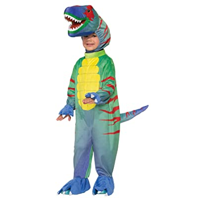 Forum Novelties Kids Sly Raptor Costume, Multicolor, Small: Toys & Games