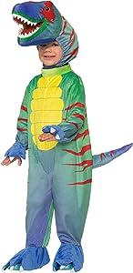 Forum Novelties Kids Sly Raptor Costume, Multicolor, Small