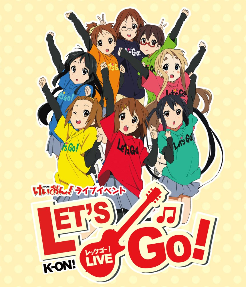 TV Anime ''K-On! (keion!)'' ''K-On! Live Event - Let's Go! -'' Blu-ray [Limited Release] [Blu-ray]
