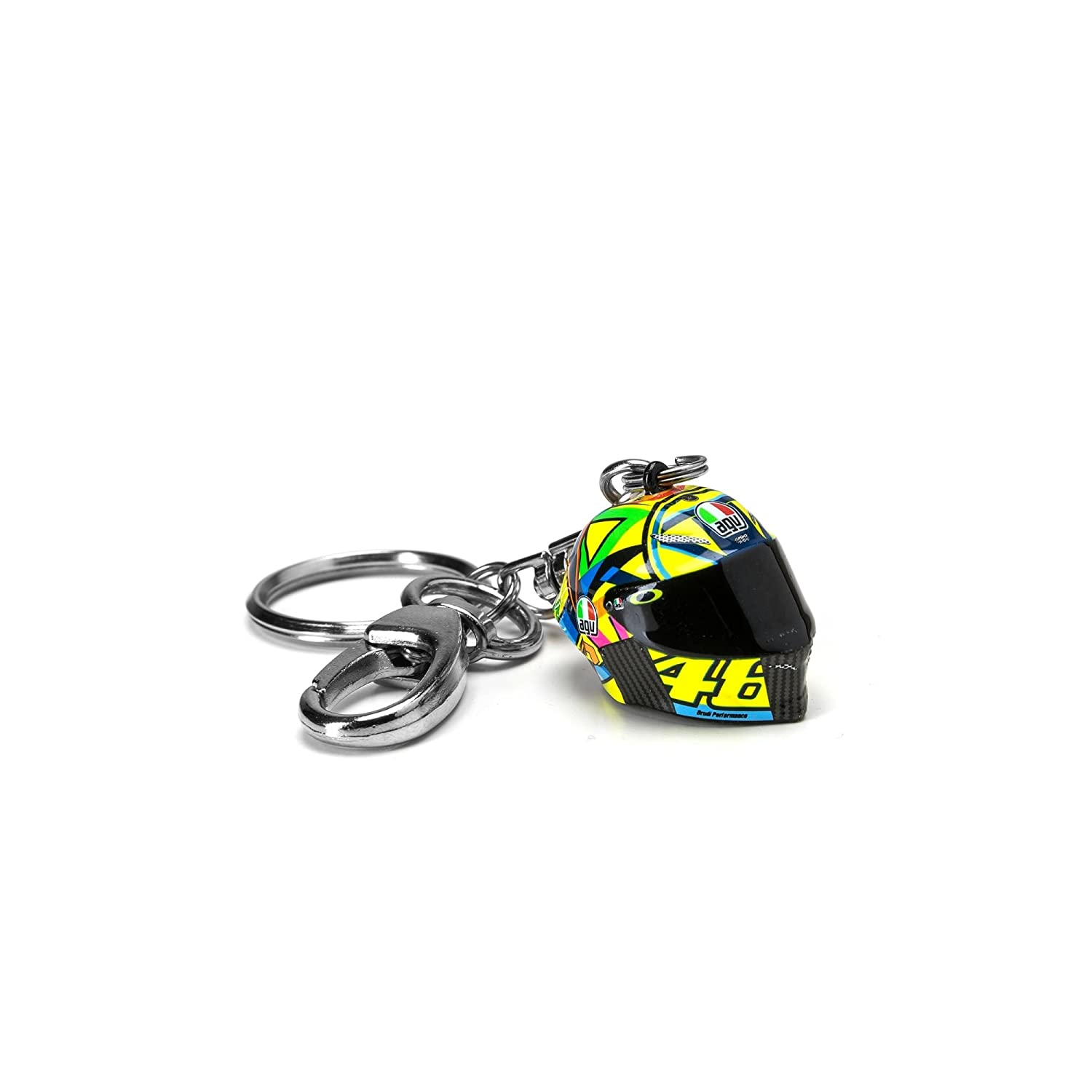 Racing-other Search For Flights Valentino Rossi 46 Helmet Bag Black Fan Apparel & Souvenirs