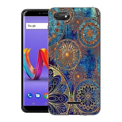 Amazon.com: Wiko Harry 2 Case, CaseExpert Pattern Soft Slim ...