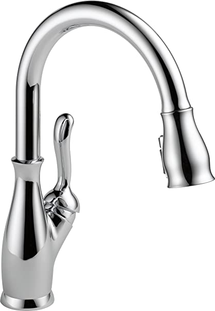 Delta Leland 9178 DST Single Handle Pull Down Kitchen Faucet With MagnaTite  Docking And