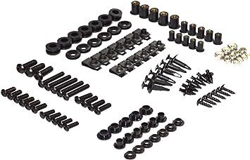 Complete Screws Black Fairing Bolt Kit fit for HONDA 2005-2006 CBR600RR F5
