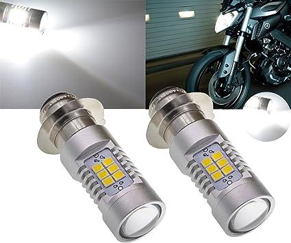 tuincyn Xenon Blanco P15D H6 M motocicleta faros antiniebla luz de ...