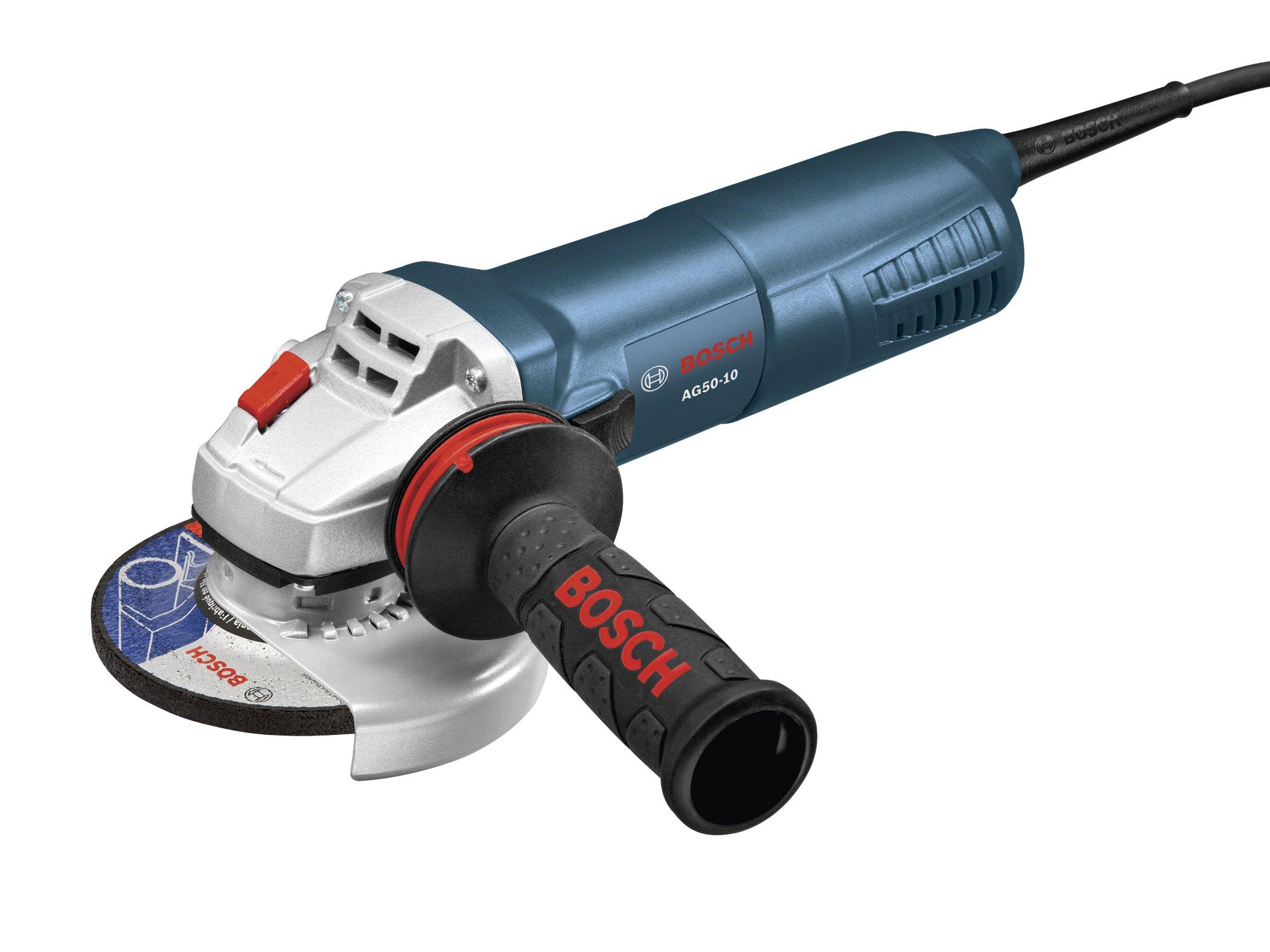 Bosch AG50-10 5-Inch Angle Grinder, 10-Amp
