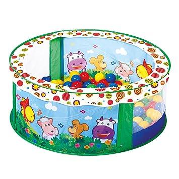 Bino Europe 88308 - Piscina de bolas para niños (incluye 80 bolas)
