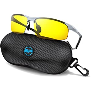c51a16837fa BLUPOND Sports Sunglasses for Men Women - Anti Fog Polarized Shooting  Safety Glasses for Ultimate
