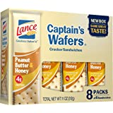 Lance Honey on Captain Wafers Sandwich Crackers, Peanut Butter, 11 oz