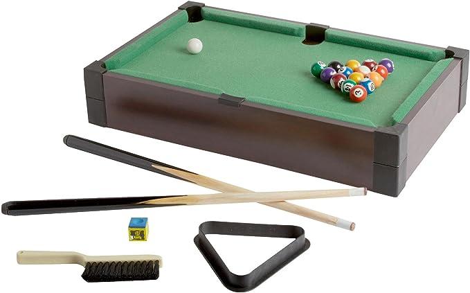 PMT Mini billar Tabletop Pool Juego de mesa Juego portátil, 50,8 ...