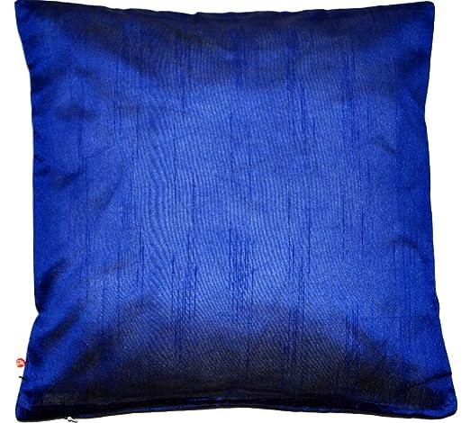 Ruwado Basics - Funda de cojín azul con cremallera invisible ...