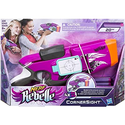 NERF Rebelle CornerSight Blaster (Pink): Toys & Games