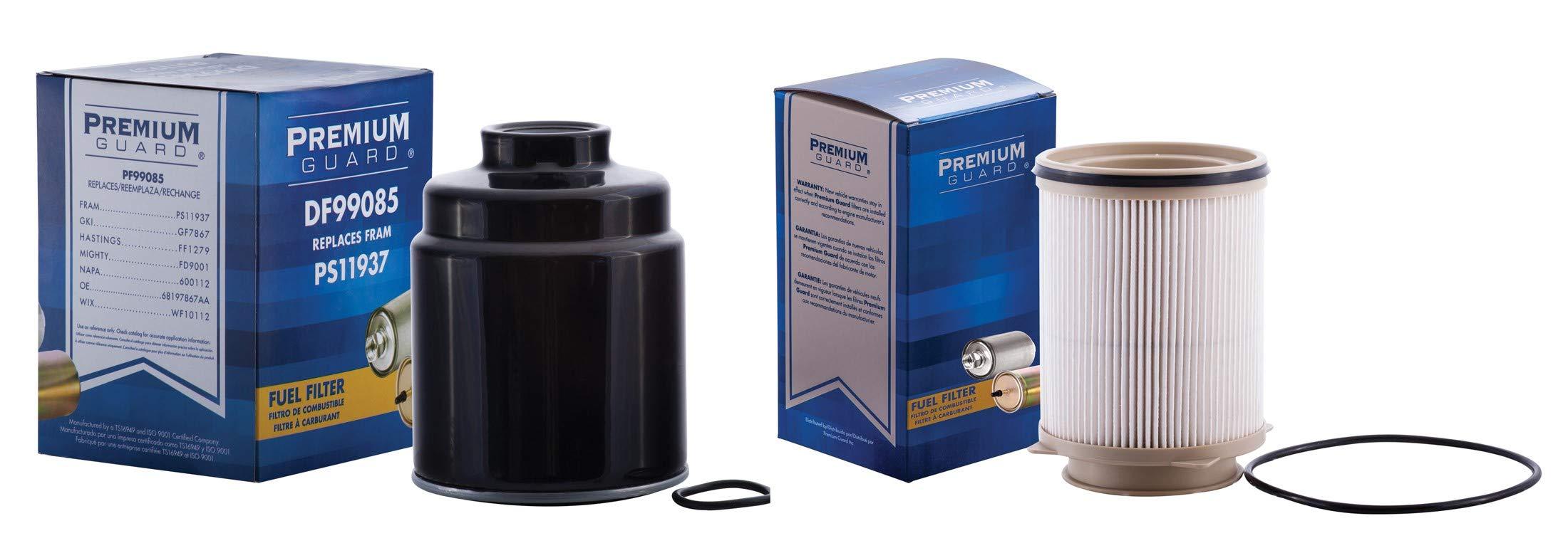 PG Kit - Diesel Fuel Filter DF6806085K| Fits 13-18 Ram 2500 6.7L; 13-18 Ram 3500 6.7L
