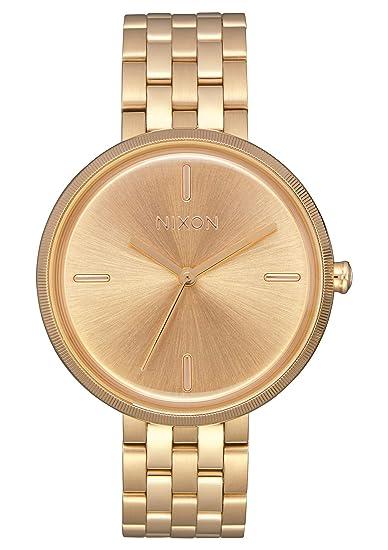 Nixon Reloj Analógico para Mujer de Cuarzo con Correa en Acero Inoxidable A1171-502-