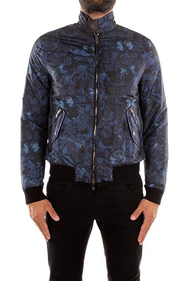 Doudoune Valentino Homme Polyamide Bleu et Noir JV0CIH9029DE30 Bleu ... 8f7b6d374b5