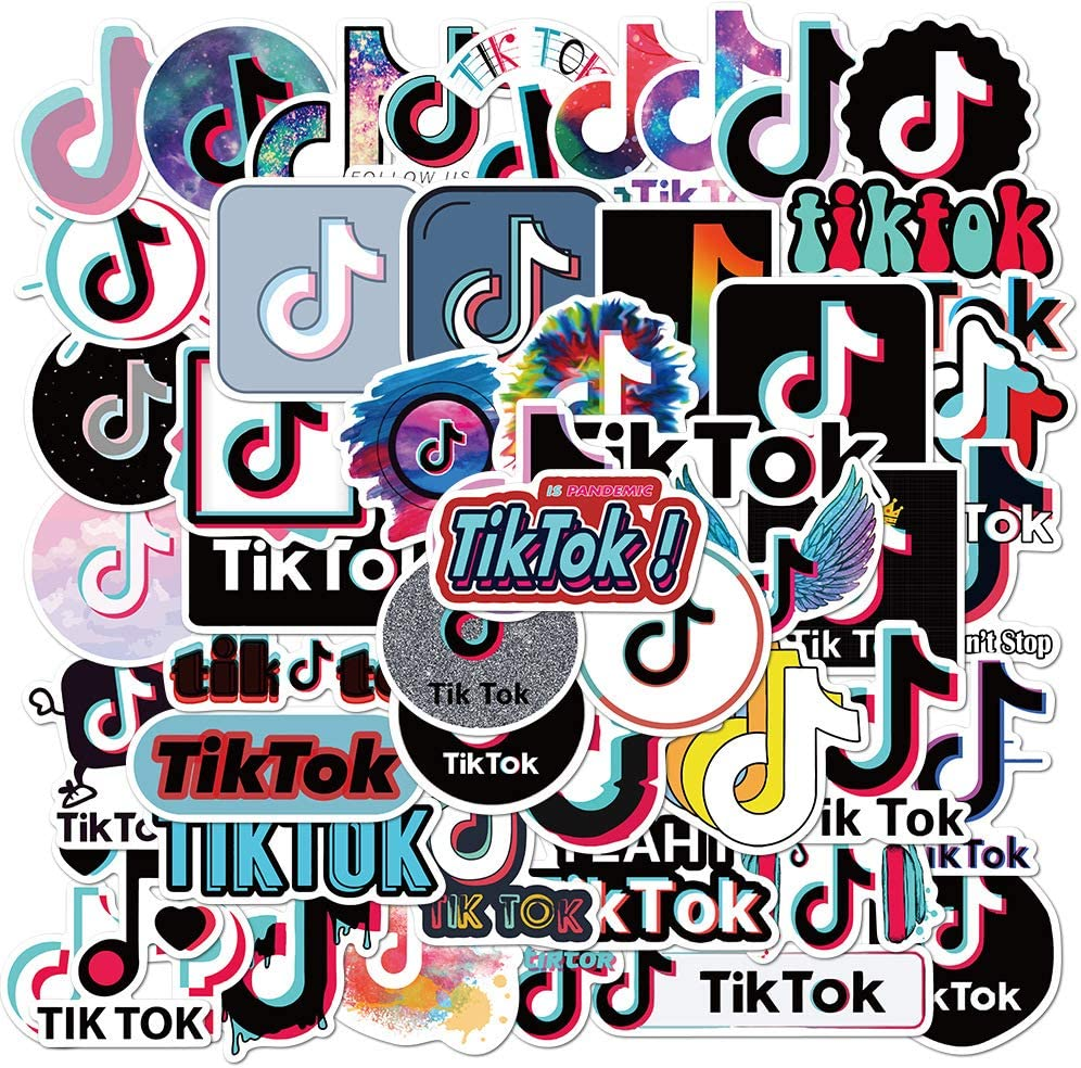 TIK Tok Sticker Packs 50pcs