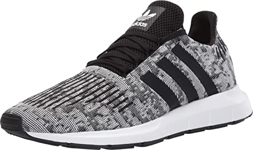 adidas Originals Mens Swift Run Lace Up Sneakers Shoes Casual - White - Size 10 D