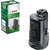 Bosch Batería de litio PBA 12 (12 V, 2,5 Ah, Power for all, PBA 12, Caja de Cartón)