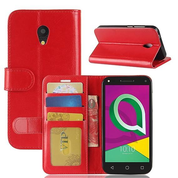 sale retailer 8877e 4ee82 Amazon.com: Alcatel U5 (3G) Case,Gift_Source [Credit Card Slot ...