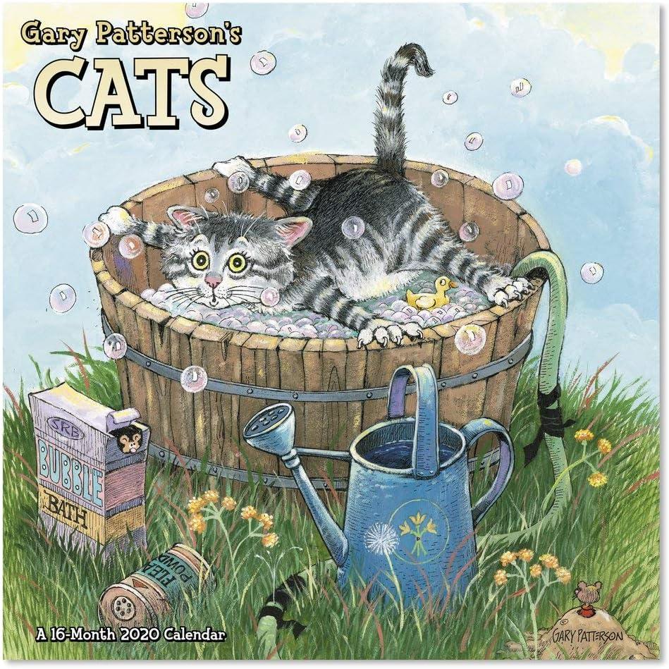 2020 Gary Patterson Cats Wall Calendar, Mini Calendar (DDMN432820)