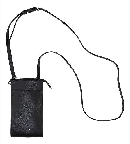 Amazon.com: DKNY Bryant - Monedero de piel auténtica para ...