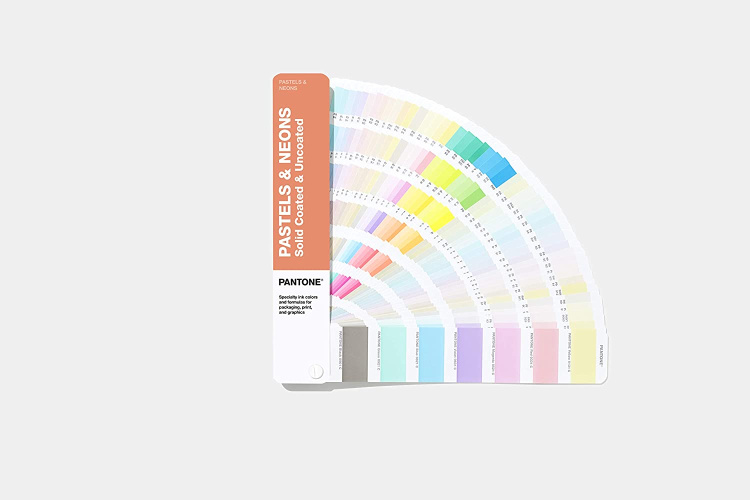Pantone GG1504A Pastel and Neon Guide - 2019 Edition