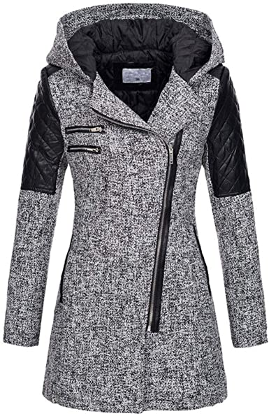 Blazer For Women,Kulywon Women Warm Long Sleeve Pullover Blouse Hooded Jacket Coat Long Outerwear